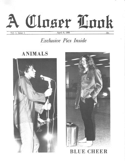 A Closer Look Vol 1, Issue 1 magazine US E8OMAVO599650