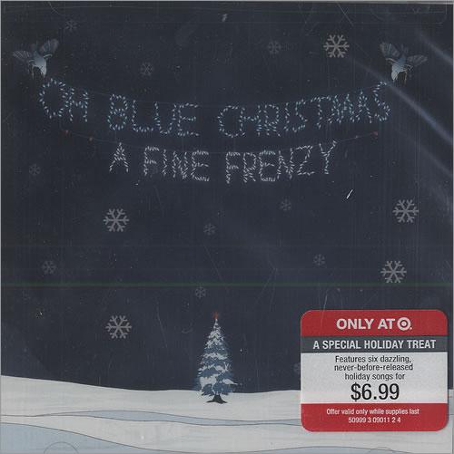 "A Fine Frenzy Oh Blue Christmas CD single (CD5 / 5"") US FB9C5OH491027"