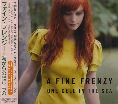 A Fine Frenzy One Cell In The Sea CD album (CDLP) Japanese FB9CDON482664