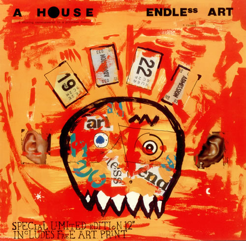 "A House Endless Art 12"" vinyl single (12 inch record / Maxi-single) UK A-H12EN444852"