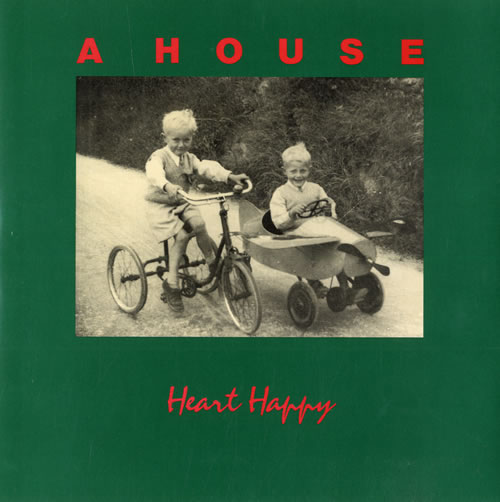 """A House Heart Happy 7"""" vinyl single (7 inch record) UK A-H07HE298370"""