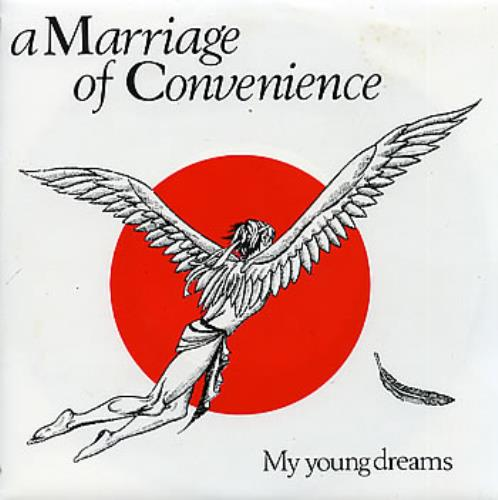 """A Marriage Of Convenience My Young Dreams 7"""" vinyl single (7 inch record) UK AOF07MY196888"""