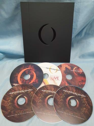 A Perfect Circle A Perfect Circle Live: Featuring Stone And Echo box set US PFCBXAP739676