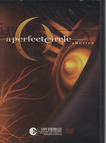 A Perfect Circle aMOTION 2-disc CD/DVD set Canadian PFC2DAM311324