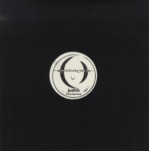 "A Perfect Circle Judith - Danny Lohner Remix 12"" vinyl single (12 inch record / Maxi-single) UK PFC12JU438641"