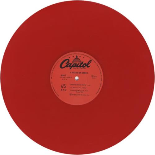 "A Taste Of Honey Boogie Oogie Oogie - Red Vinyl 12"" vinyl single (12 inch record / Maxi-single) Mexican HAA12BO399682"