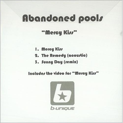 Abandoned Pools Mercy Kills CD-R acetate UK ABPCRME246239