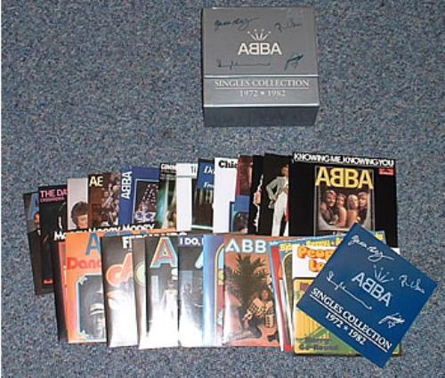 Abba Singles Collection 1972 1982 Uk Cd Single Box Set