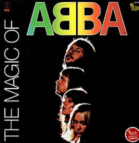 Abba The Magic Of Abba vinyl LP album (LP record) Colombian ABBLPTH237208