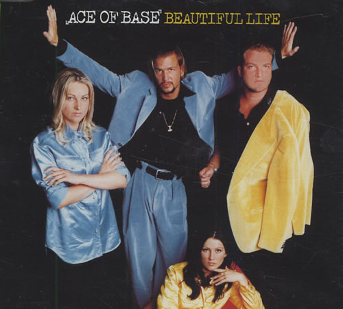 "Ace Of Base Beautiful Life CD single (CD5 / 5"") UK AOBC5BE121605"