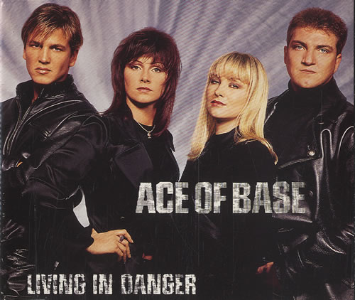 "Ace Of Base Living In Danger CD single (CD5 / 5"") Swedish AOBC5LI37786"