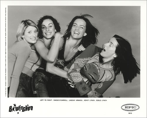 B*Witched Awake & Breathe media press pack US B54PPAW149359