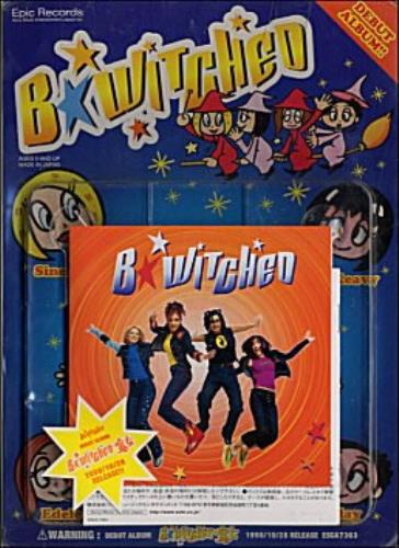 B*Witched B*witched - Promo Pack CD album (CDLP) Japanese B54CDBW132168