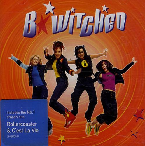 B*Witched B*Witched CD album (CDLP) UK B54CDBW505617