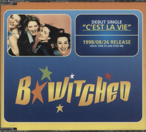 "B*Witched C'est La Vie - Euro Disc, Japanese P/s CD single (CD5 / 5"") Japanese B54C5CE122573"