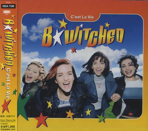 "B*Witched C'est La Vie CD single (CD5 / 5"") Japanese B54C5CE134159"