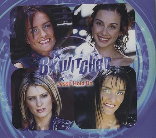 "B*Witched Jesse Hold On CD single (CD5 / 5"") UK B54C5JE159398"