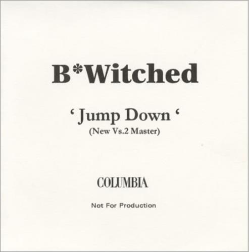 B*Witched Jump Down - New Vs.2 Master CD-R acetate UK B54CRJU152402