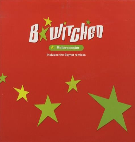 """B*Witched Rollercoaster - Skynet Remixes 12"""" vinyl single (12 inch record / Maxi-single) UK B5412RO122130"""
