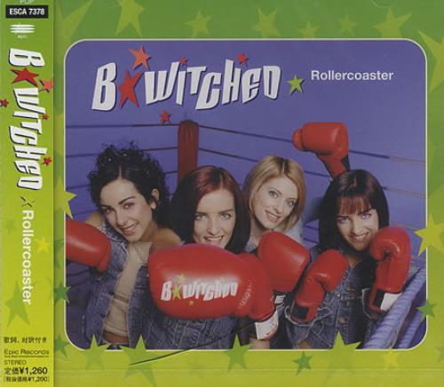 "B*Witched Rollercoaster CD single (CD5 / 5"") Japanese B54C5RO134094"
