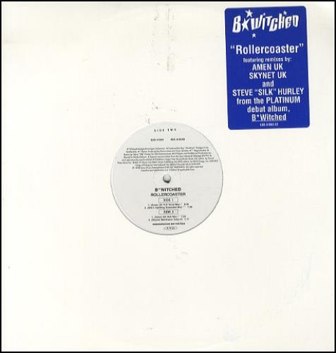 """B*Witched Rollercoaster 12"""" vinyl single (12 inch record / Maxi-single) US B5412RO139378"""