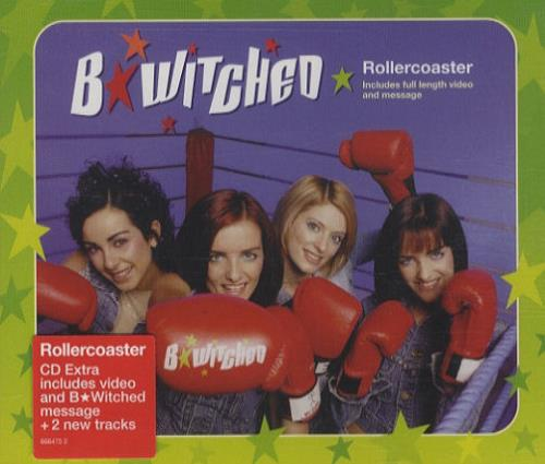 """B*Witched Rollercoaster CD single (CD5 / 5"""") UK B54C5RO160847"""