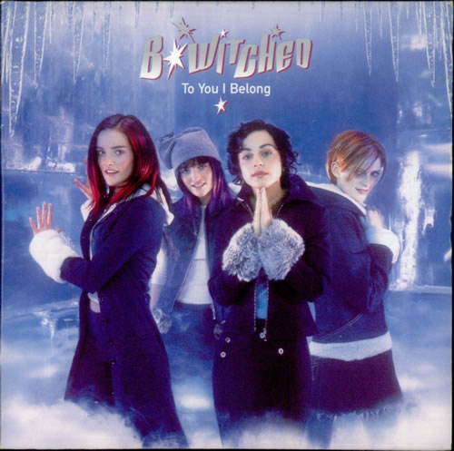 "B*Witched To You I Belong CD single (CD5 / 5"") UK B54C5TO125944"