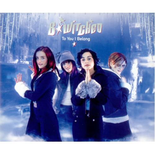 "B*Witched To You I Belong CD single (CD5 / 5"") UK B54C5TO131884"