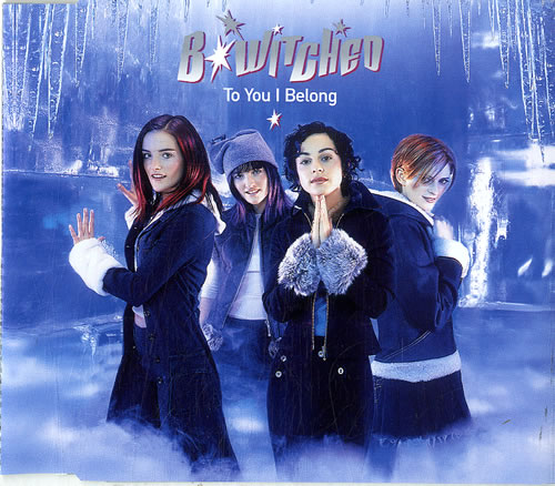 """B*Witched To You I Belong CD single (CD5 / 5"""") UK B54C5TO146406"""