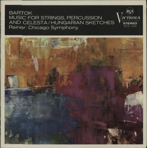 Béla Bartók Music For Strings, Percussion And Celesta / Hungarian Sketches - 2nd vinyl LP album (LP record) UK B11LPMU664694
