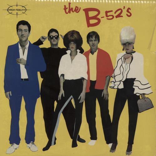 B-52s The B-52's - 1st vinyl LP album (LP record) UK B52LPTH189569