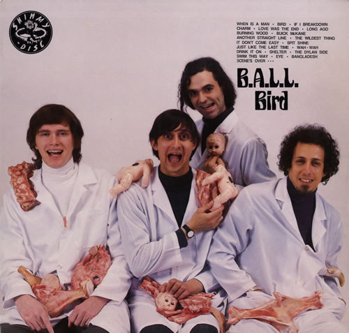 B.A.L.L. Bird vinyl LP album (LP record) US C7ZLPBI557198