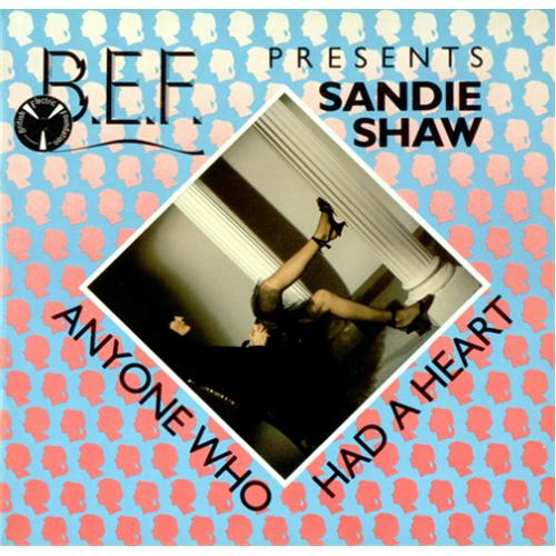 "B.E.F. Anyone Who Had A Heart 7"" vinyl single (7 inch record) UK BRF07AN414070"