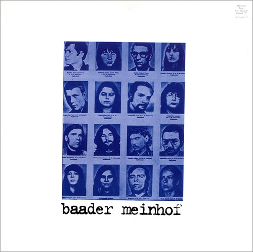 """Baader Meinhof Baader Meinhof + etched 7"""" vinyl LP album (LP record) UK BDQLPBA482235"""