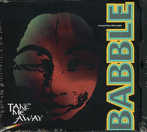 """Babble Take Me Away CD single (CD5 / 5"""") US BABC5TA71685"""