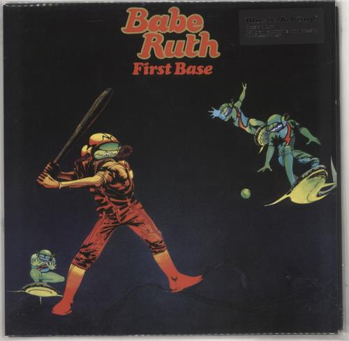 Babe Ruth First Base - 180gm vinyl LP album (LP record) UK HTULPFI728030