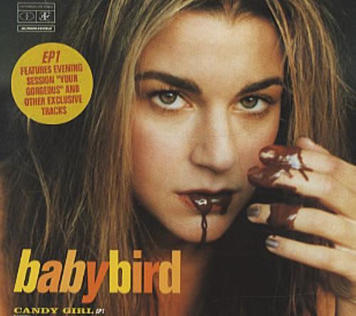 Babybird Candy Girl 2-CD single set (Double CD single) UK BYB2SCA163708