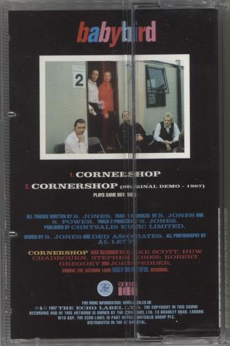 Babybird Cornershop cassette single UK BYBCSCO273330
