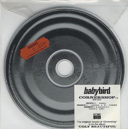 """Babybird Cornershop CD single (CD5 / 5"""") UK BYBC5CO85974"""