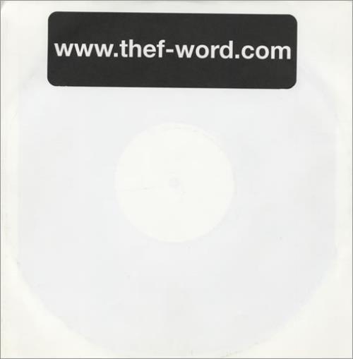 "Babybird The F-Word 10"" vinyl single (10"" record) UK BYB10TH174909"