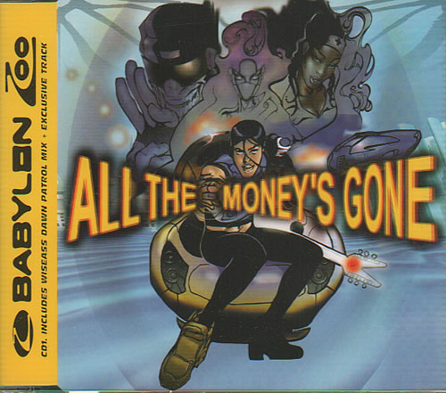 "Babylon Zoo All The Money's Gone CD single (CD5 / 5"") UK BBZC5AL311837"