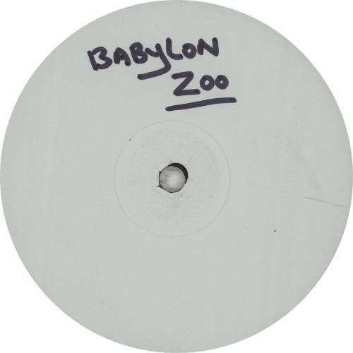 "Babylon Zoo Animal Army - Test Pressing 12"" vinyl single (12 inch record / Maxi-single) UK BBZ12AN447969"