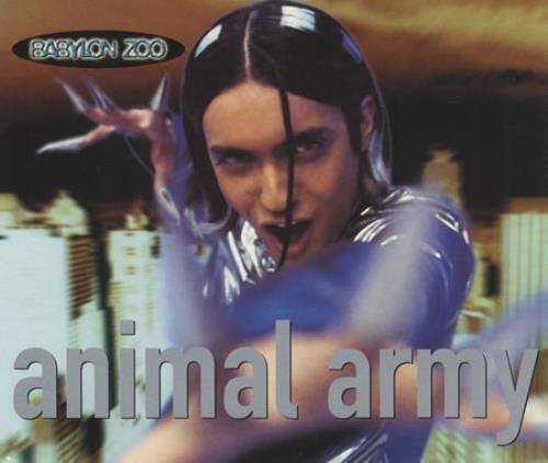 "Babylon Zoo Animal Army CD single (CD5 / 5"") UK BBZC5AN103581"