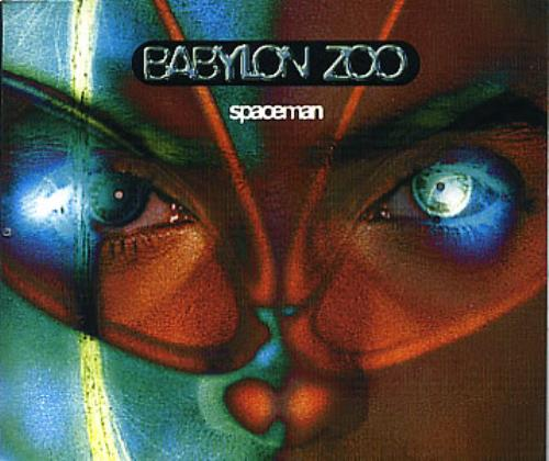 "Babylon Zoo Spaceman CD single (CD5 / 5"") UK BBZC5SP83740"