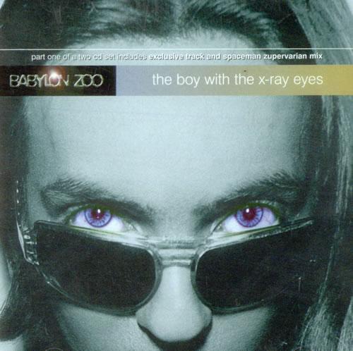 "Babylon Zoo The Boy With The X-Ray Eyes CD single (CD5 / 5"") UK BBZC5TH515881"