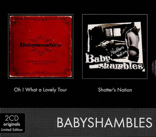 Babyshambles 2CD Originals 2 CD album set (Double CD) French BB62CCD488971