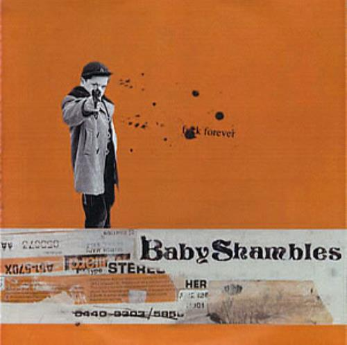 Babyshambles Fuck Forever - Six Track CD-R acetate UK BB6CRFU352709
