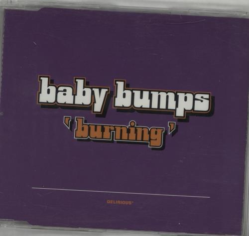 """Baby Bumps Burning CD single (CD5 / 5"""") UK BYPC5BU282359"""