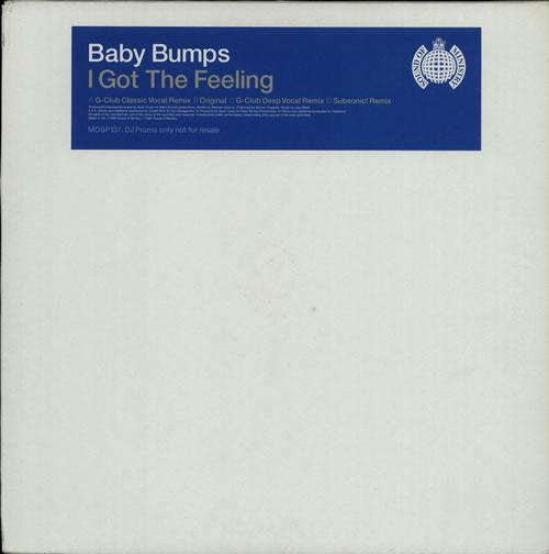 "Baby Bumps I Got The Feeling 12"" vinyl single (12 inch record / Maxi-single) UK BYP12IG606932"
