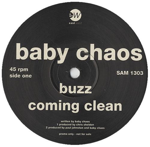 "Baby Chaos Buzz 12"" vinyl single (12 inch record / Maxi-single) UK BCS12BU258096"
